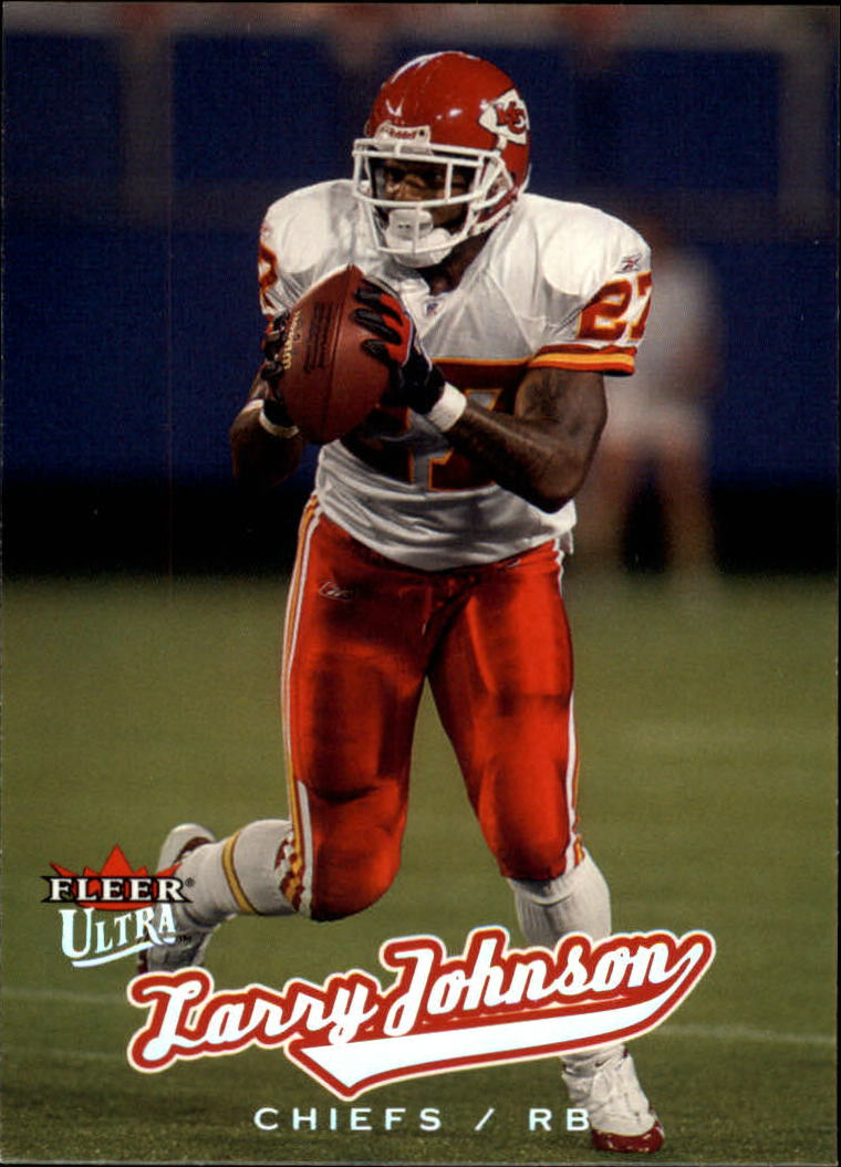 2005 Ultra #26 Larry Johnson