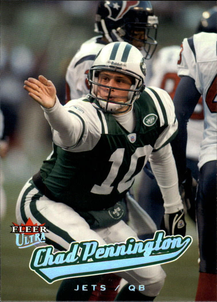 2005 Ultra #28 Chad Pennington