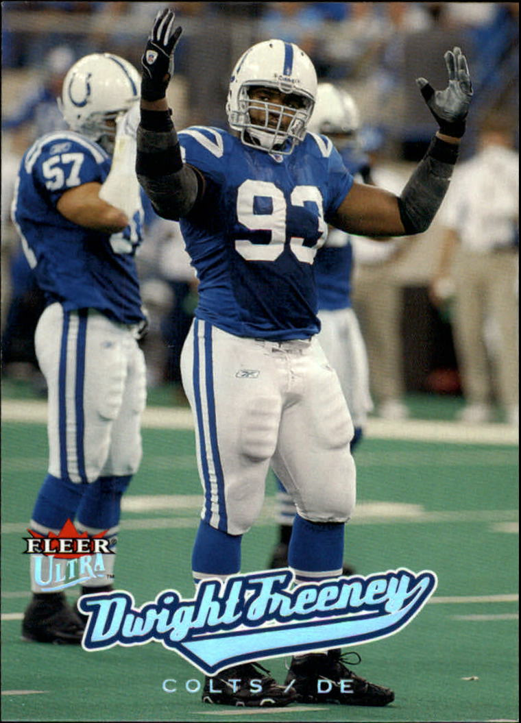 2005 Ultra #29 Dwight Freeney