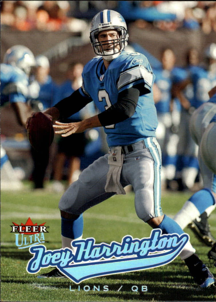 2005 Ultra #58 Joey Harrington
