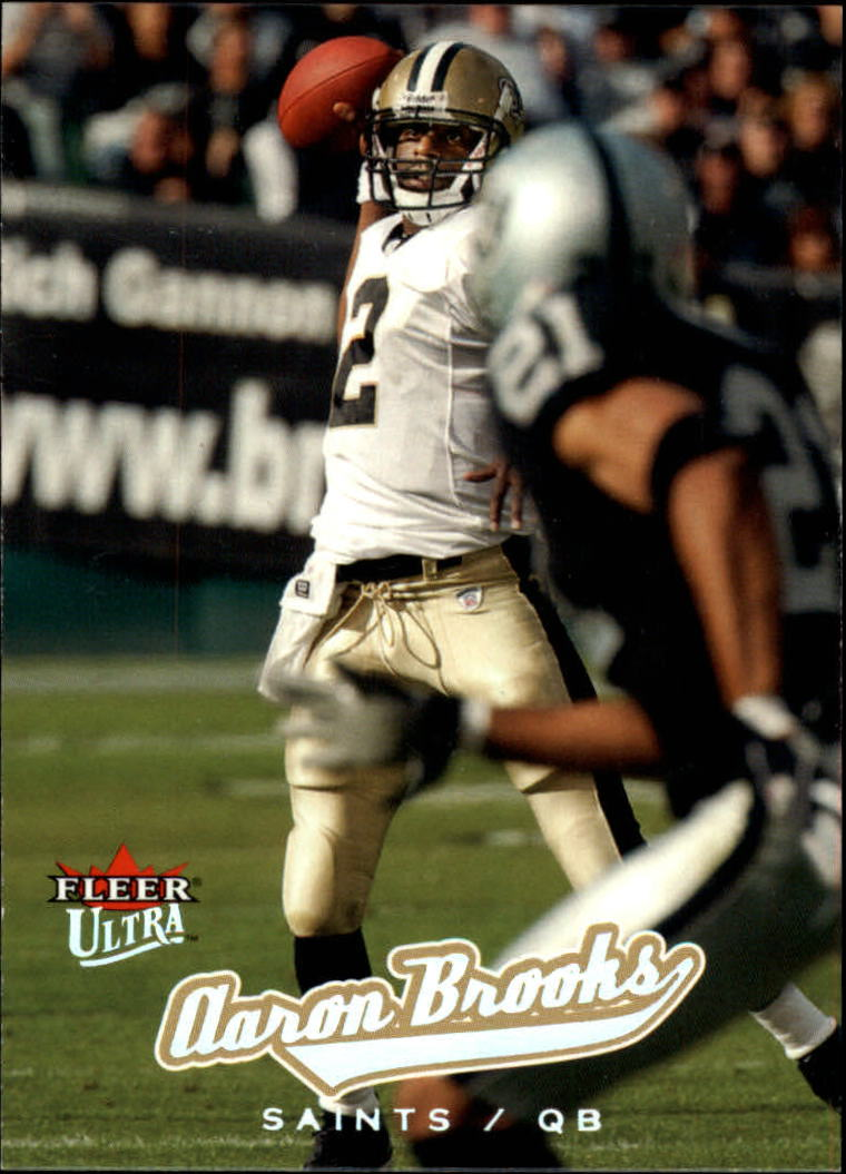 2005 Ultra #64 Aaron Brooks