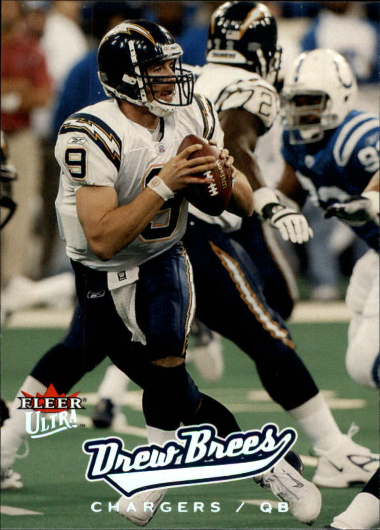 2005 Ultra #72 Drew Brees