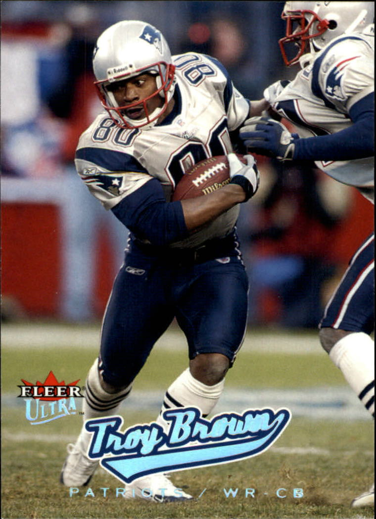 2005 Ultra #79 Troy Brown