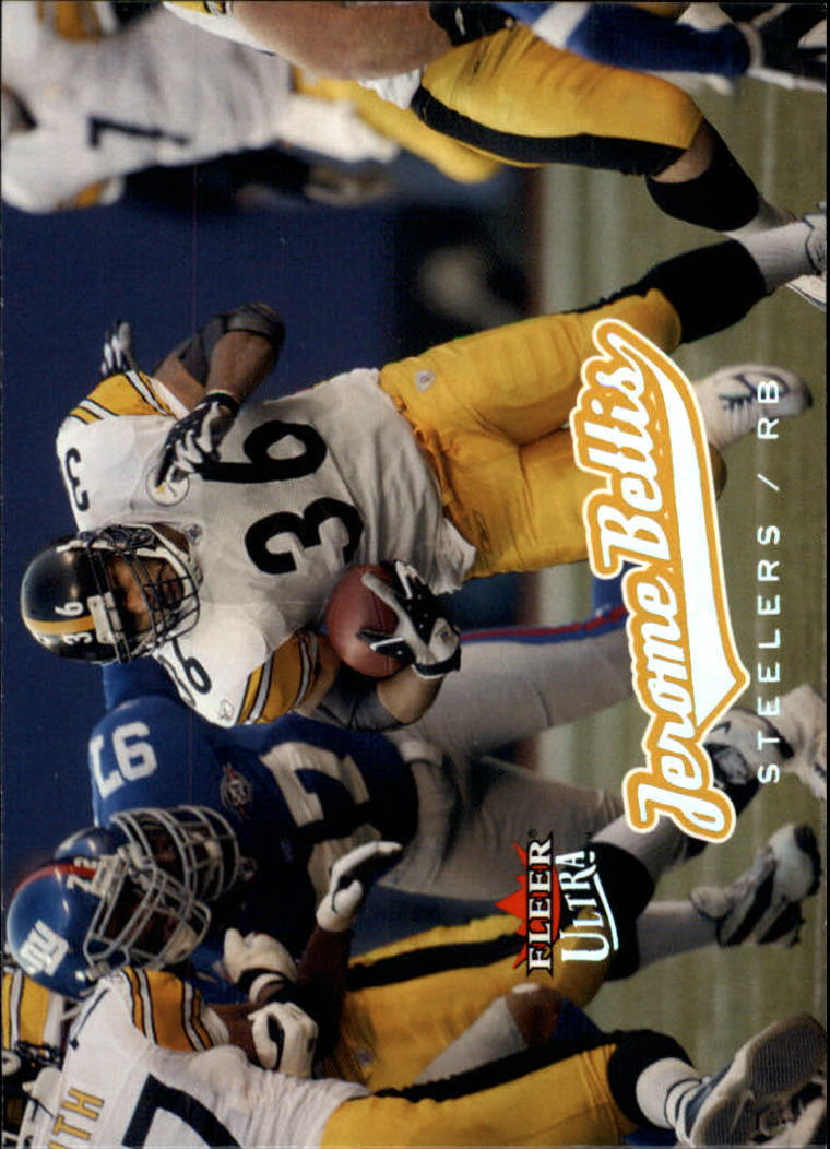 2005 Ultra #80 Jerome Bettis