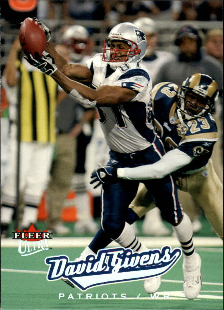 2005 Ultra #93 David Givens