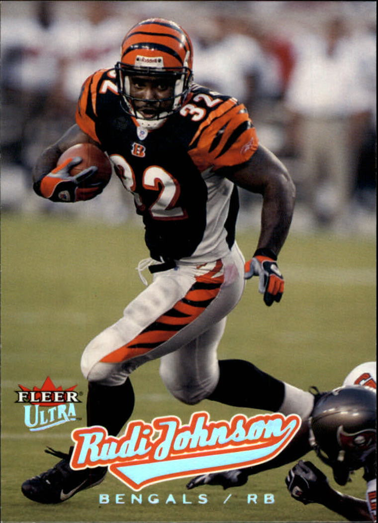 2005 Ultra #94 Rudi Johnson