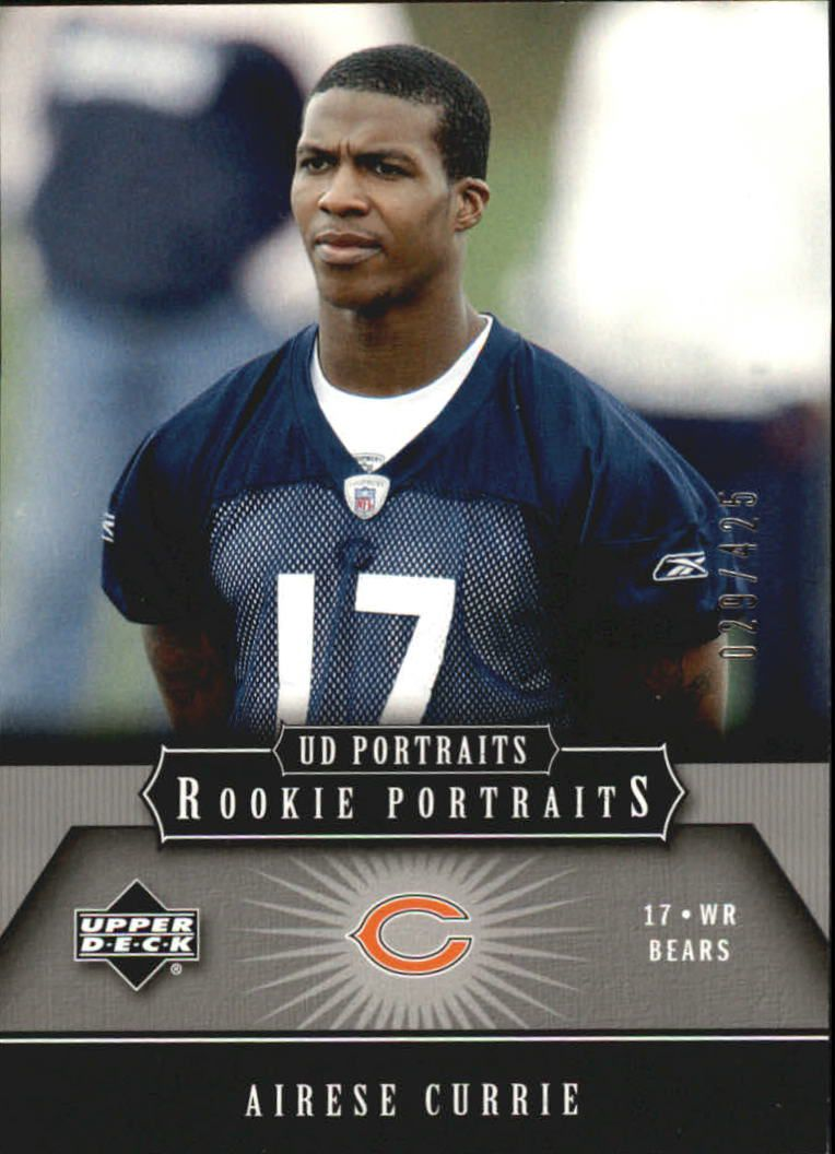 2005 UD Portraits #145 Airese Currie RC