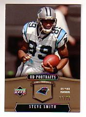 2005 UD Portraits Gold #16 Steve Smith