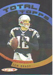 2005 Topps Total Total Topps #TT1 Tom Brady