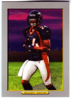 2005 Topps Turkey Red #37B Champ Bailey Ad Back