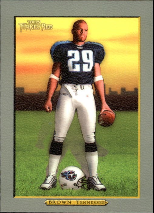2005 Topps Turkey Red #52 Chris Brown