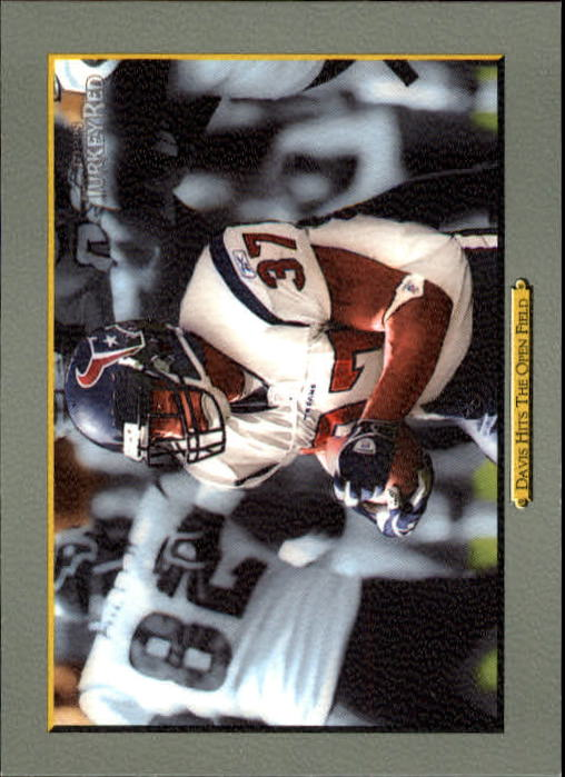 2005 Topps Turkey Red #76 Domanick Davis CL/Davis Hits the Hole