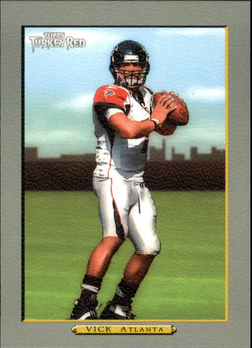 2005 Topps Turkey Red #80A Michael Vick