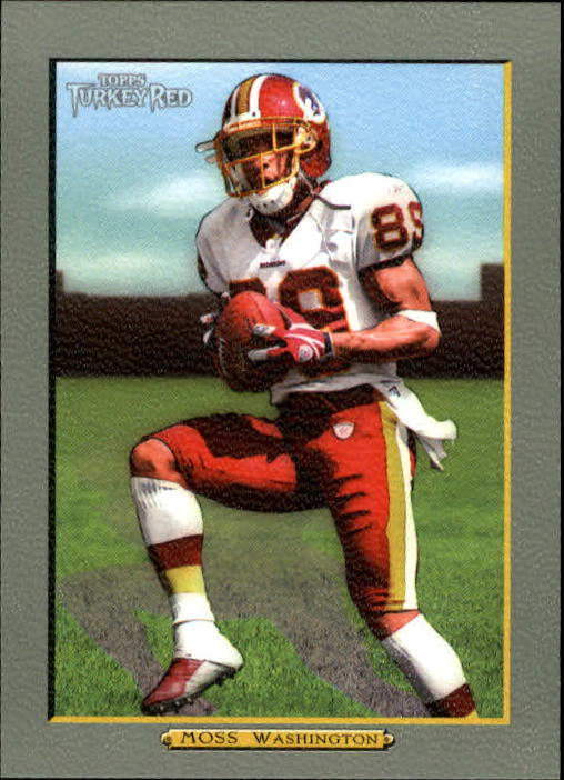 2005 Topps Turkey Red #109 Santana Moss