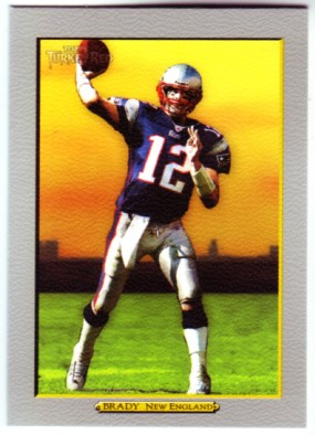 2005 Topps Turkey Red #157 Tom Brady
