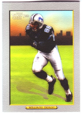 2005 Topps Turkey Red #188 Mike Williams front image