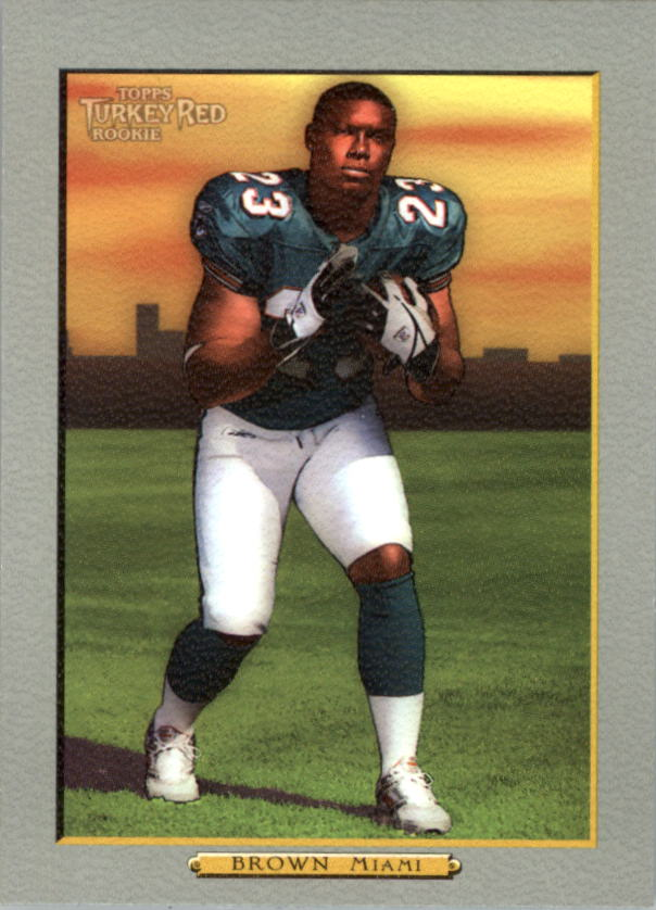 2005 Topps Turkey Red #190A Ronnie Brown RC