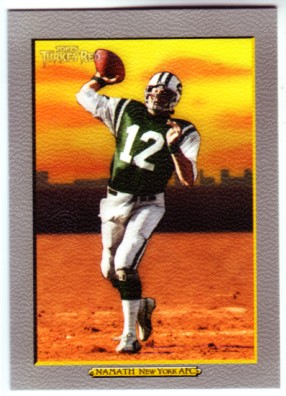 2005 Topps Turkey Red #236 Joe Namath
