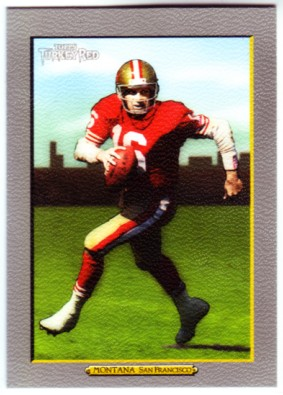 2005 Topps Turkey Red #237 Joe Montana