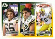 2005 Topps Total #28 Mark Tauscher/Mike Flanagan/Chad Clifton RC