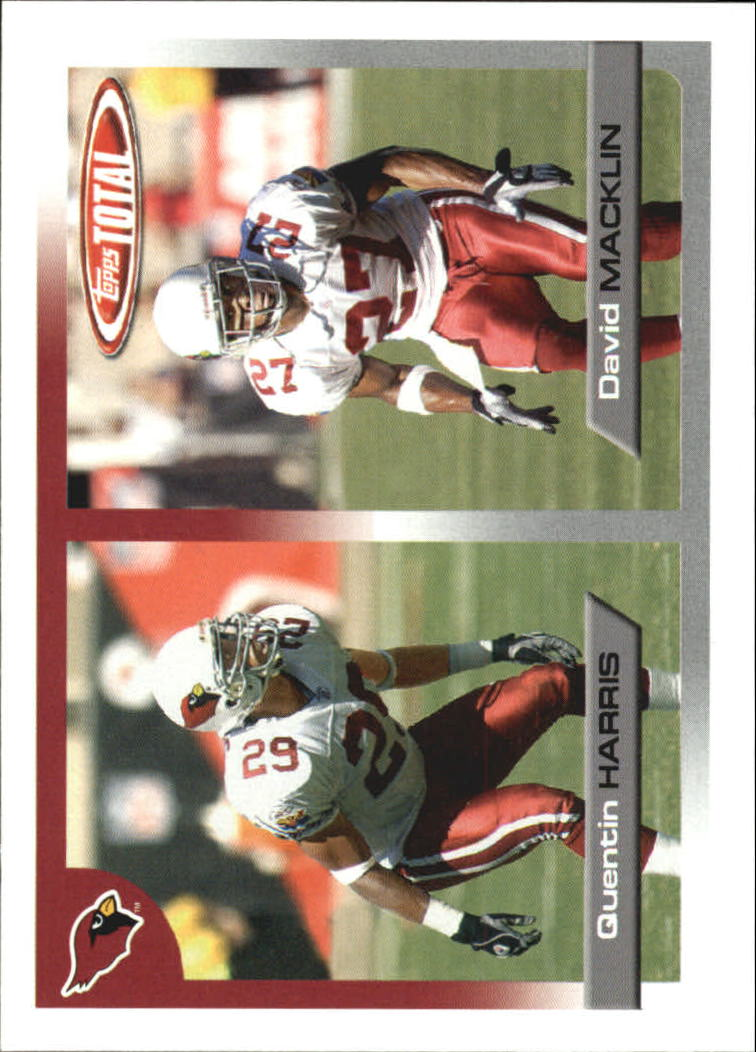 2005 Topps Total #133 Quentin Harris/David Macklin