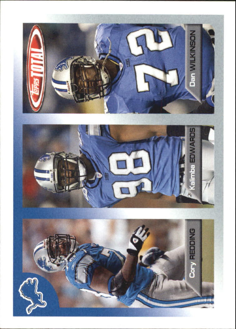 2005 Topps Total #372 Kalimba Edwards/Dan Wilkinson/Cory Redding