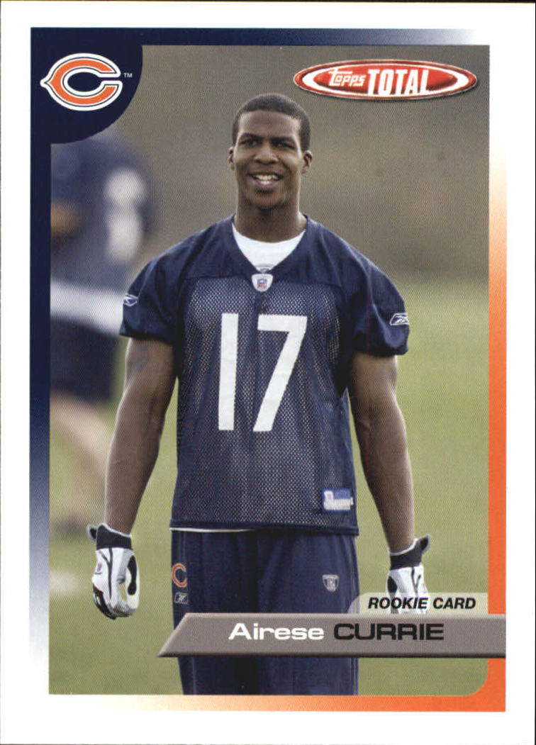 2005 Topps Total #507 Airese Currie RC