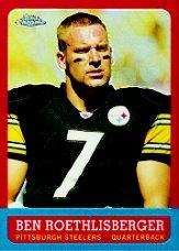2005 Topps Chrome Throwbacks #TB8 Ben Roethlisberger