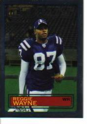 2005 Topps Chrome Throwbacks #TB28 Reggie Wayne