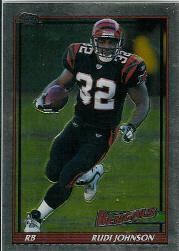 2005 Topps Chrome Throwbacks #TB36 Rudi Johnson