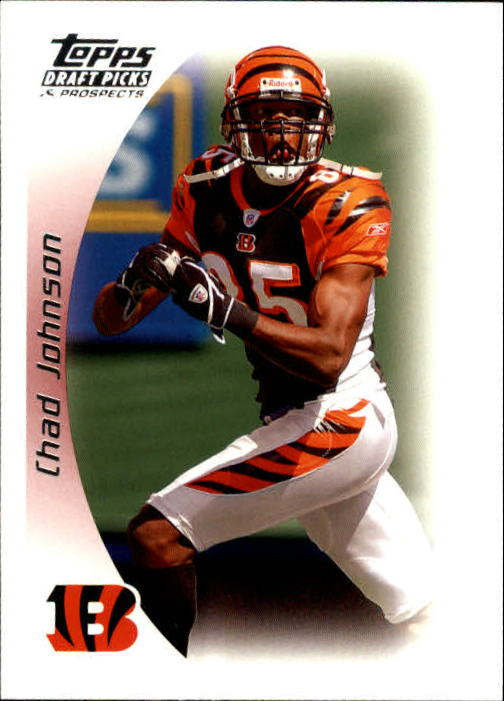 2005 Topps Draft Picks and Prospects #36 Chad Johnson