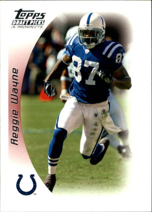 2005 Topps Draft Picks and Prospects #42 Reggie Wayne
