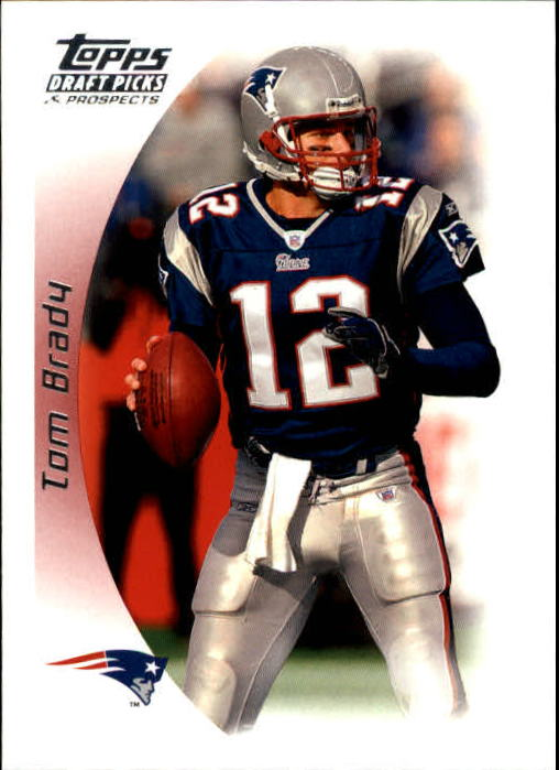 2005 Topps Draft Picks and Prospects #45 Tom Brady