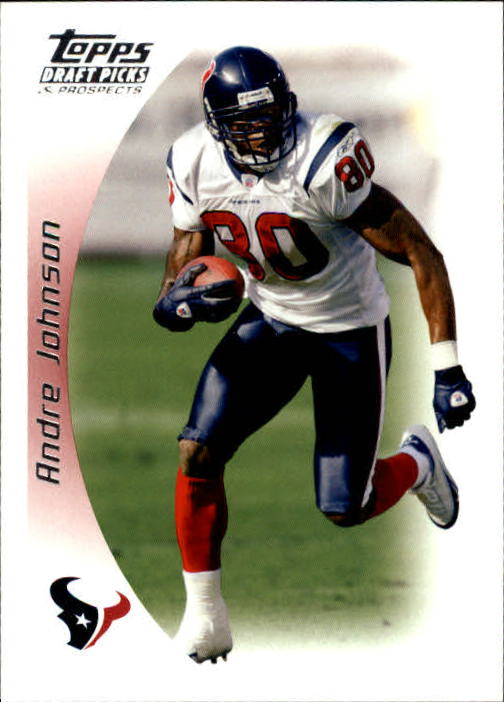 2005 Topps Draft Picks and Prospects #64 Andre Johnson