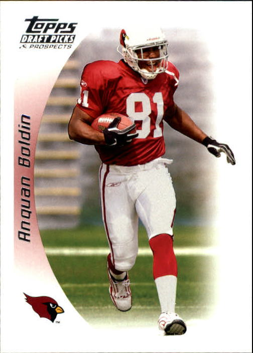 2005 Topps Draft Picks and Prospects #66 Anquan Boldin