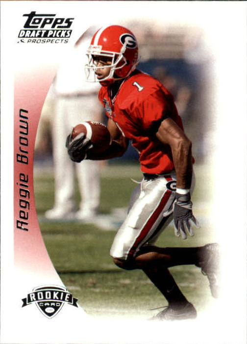 2005 Topps Draft Picks and Prospects #120 Reggie Brown RC
