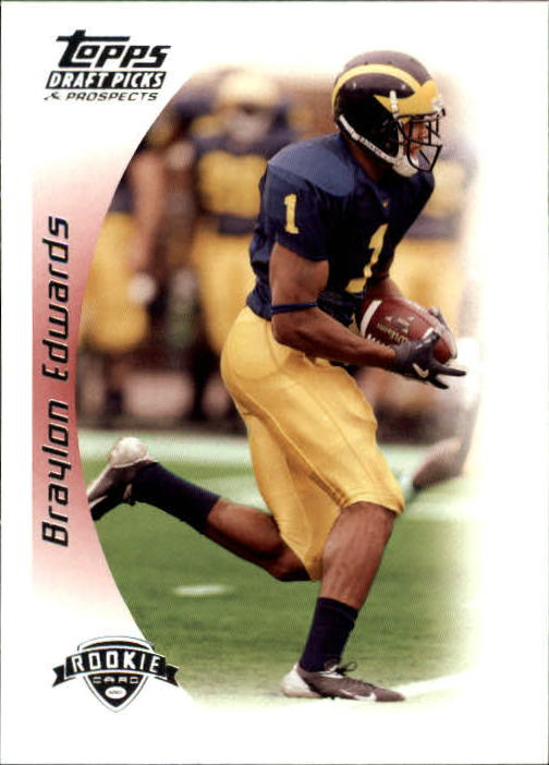 2005 Topps Draft Picks and Prospects #149 Braylon Edwards RC