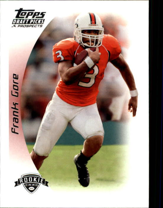 2005 Topps Draft Picks and Prospects #159 Frank Gore RC