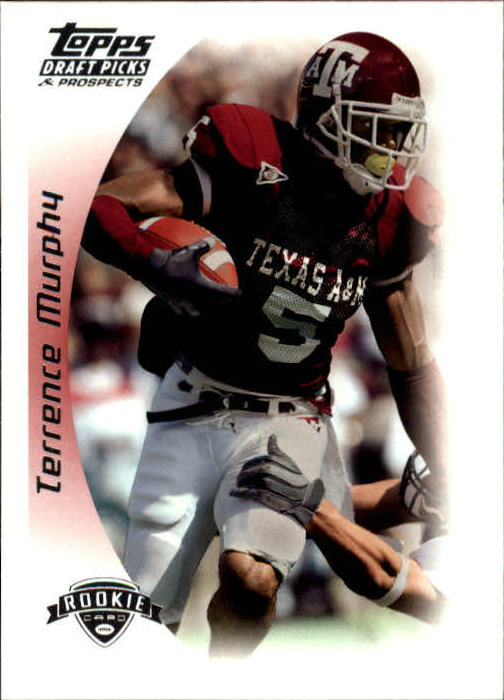 2005 Topps Draft Picks and Prospects #169 Terrence Murphy RC