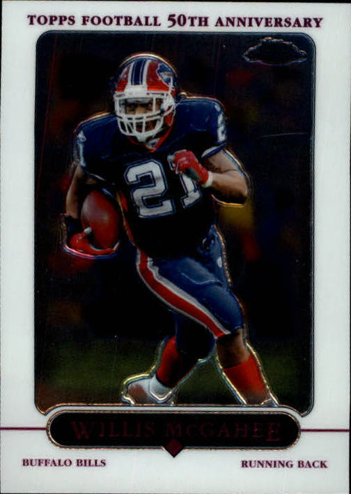 2005 Topps Chrome #13 Willis McGahee