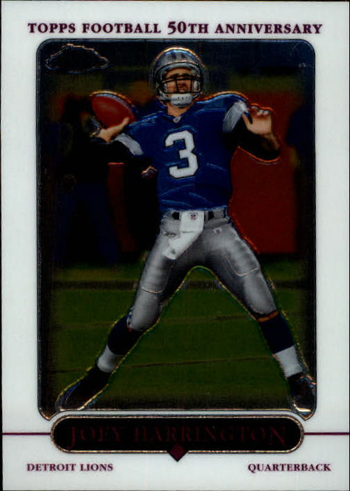 2005 Topps Chrome #19 Joey Harrington