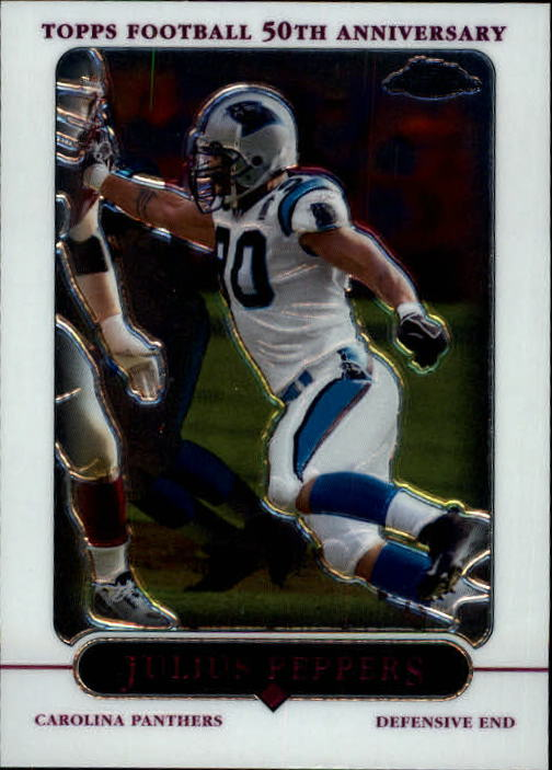 2005 Topps Chrome #25 Julius Peppers