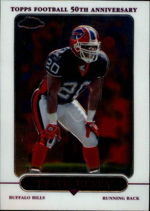 2005 Topps Chrome #29 Travis Henry