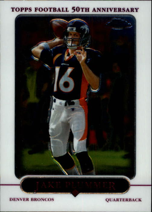 2005 Topps Chrome #34 Jake Plummer