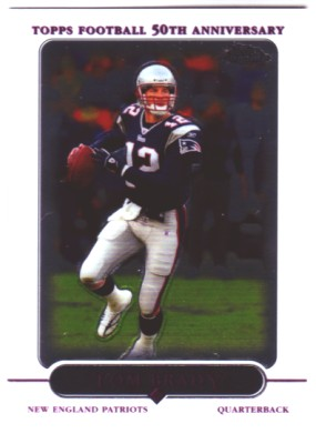 2005 Topps Chrome #46 Tom Brady