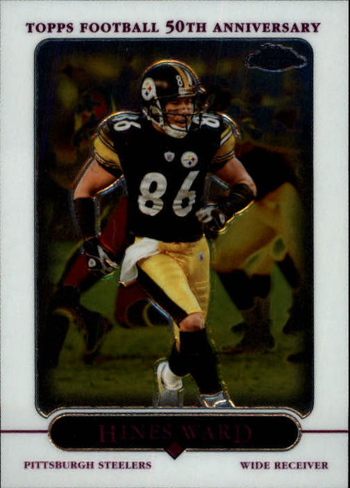 2005 Topps Chrome #52 Hines Ward