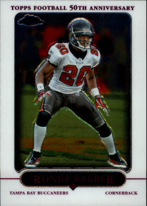 2005 Topps Chrome #54 Ronde Barber