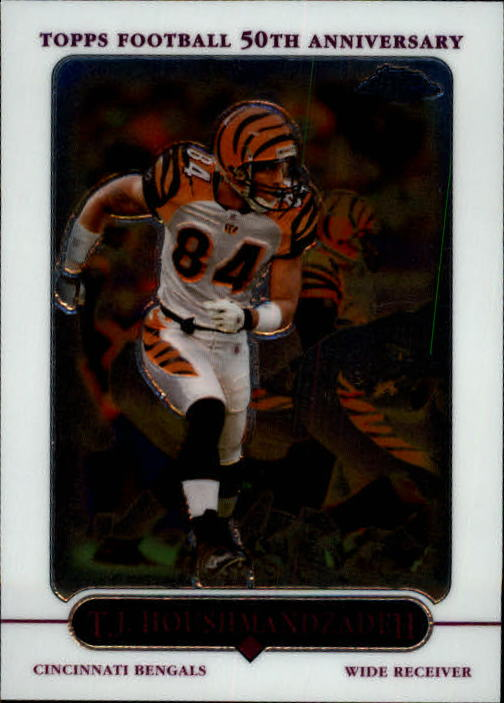 2005 Topps Chrome #55 T.J. Houshmandzadeh