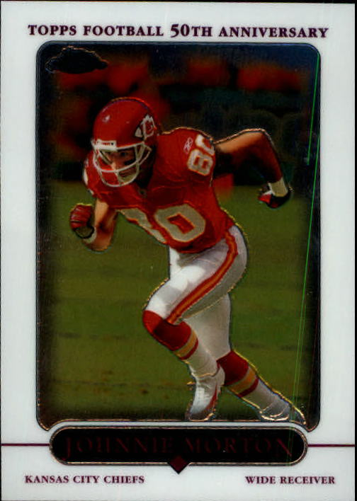 2005 Topps Chrome #73 Johnnie Morton