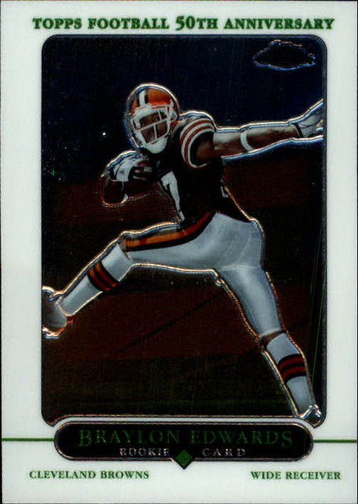 2005 Topps Chrome #174 Braylon Edwards RC